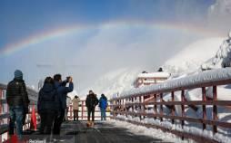 تصاویر رنگین کمان یخی نیاگارا,عکس های آبشار شهر نیاگارا,تصاویر آبشار نیاگارا