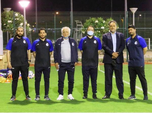 مدیرعامل باشگاه استقلال و تیم همراهش,مددی در عربستان