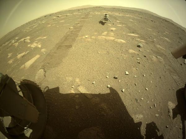 فرود بالگرد مریخی بر روی سیاره سرخ,بالگرد مریخی