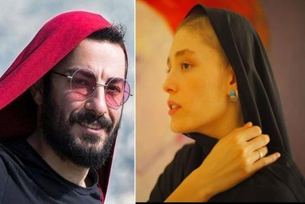 پیام احساسی فرشته حسینی برای نوید محمدزاده,نوید محمدزاده و فرشته حسینی
