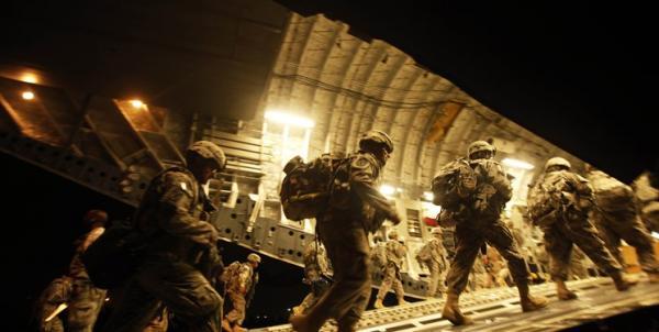 خروج نیروهای آمریکایی از عراق,کمک آمریکا به فلسطین