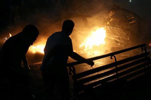 انفجار کوره در یک مجتمع فولادی در یزد