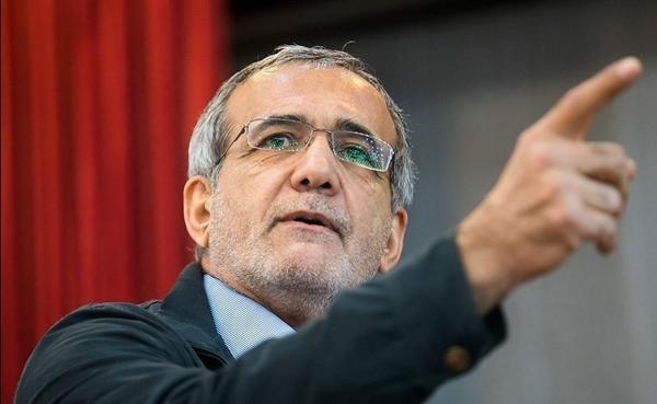 مسعود پزشکیان,اظهارات مسعود پزشکیان در مورد اعتراضاتات آبان