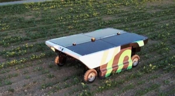 تولید ربات خودران خورشیدی برای نابودی آفتهای کشاورزی,ربات خورشیدی