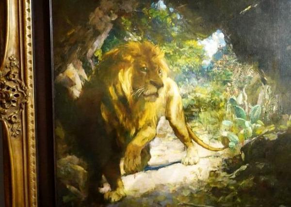 فروش گرانترین نقاشی یک هنرمند آسیایی,حراجی کریستیز