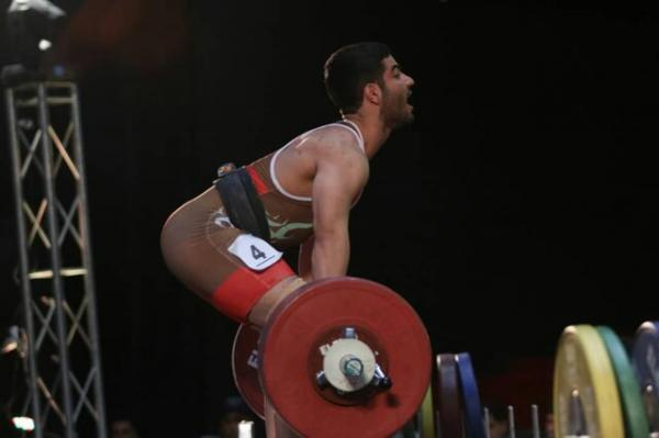 مسابقات وزنه برداری قهرمانی آسیا,مدال برنز ایران در مسابقات وزنه برداری قهرمانی آسیا