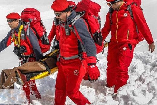 کشف جسد یخزده,کوههای عجب شیر