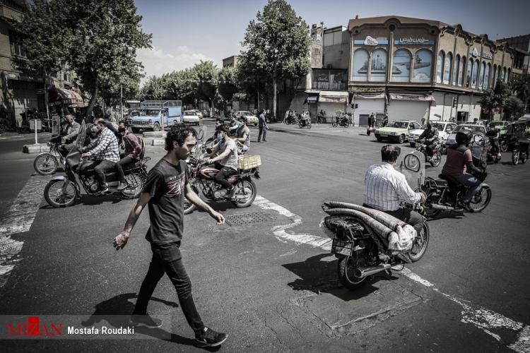 تصاویر تهران به رنگ قرمز کرونایی,عکس های شرایط تهران در وضعیت کرونا,تصاویر مردم تهران در روز کرونایی,تصاویر شرایط شهر تهران در وضعیت قرمز کرونا