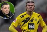 مذاکره بارسلونا برای انتقال ارلینگ هالند,مدیر باشگاه دورتموند