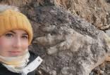 ردپای یک دایناسور,کشف ردپای یک دایناسور غول پیکر