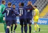 مقدماتی جام جهانی قطر,دیدار تیم ملی فرانسه و قزاقستان