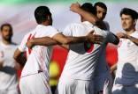 تیم ملی ایران,رتبه جدید تیم ملی ایران در رده بندی فیفا
