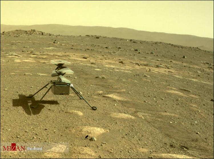 تصاویر فرود بالگرد ناسا در مریخ,عکس های فرود بالگرد ناسا روی مریخ,