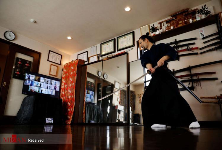 تصاویر کلاسهای آنلاین ورزش رزمی سامورایی,عکس های کلاس آنلاین ورزش رزمی سامورایی,تصاویری از ورزش رزمی سامورایی