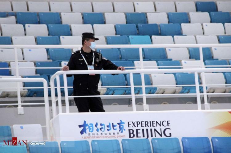 تصاویر آماده سازی برای المپیک زمستانی ۲۰۲۲ در چین,عکس های آماده چین برای المپیک زمستانی ۲۰۲۲,تصاویر مسابقات آزمایشی المپیک ۲۰۲۲