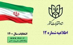 انتخابات میاندورهای مجلس خبرگان رهبری,خبرگان1400