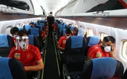 ترس و وحشت در پروازپرسپولیس,سقوط هواپیما