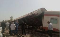 خارج شدن قطار از ریل در مصر,مصر