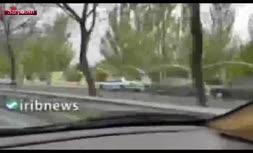 فیلم/ صف خودروها در مجاورت بوستان ولایت تهران؛ یک روز مانده به سیزده بدر