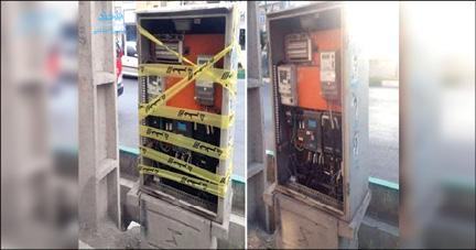 سرقت ترانس های برق,عکس سرقت ترانس های برق