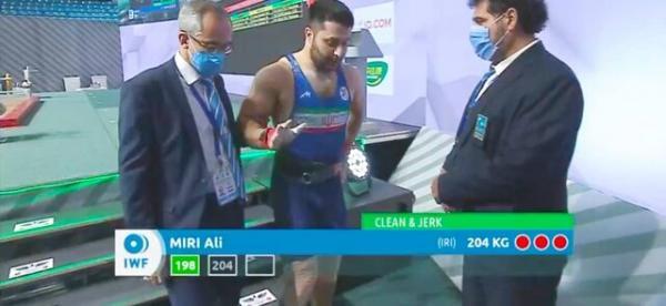 مسابقات وزنه برداری قهرمانی آسیا قهرمان آسیا,رتبه ایران در مسابقات وزنه برداری قهرمانی آسیا قهرمان آسیا