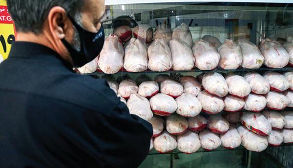 افزایش قیمت مرغ و هندوانه,قیمت مرغ و هندوانه در بازار