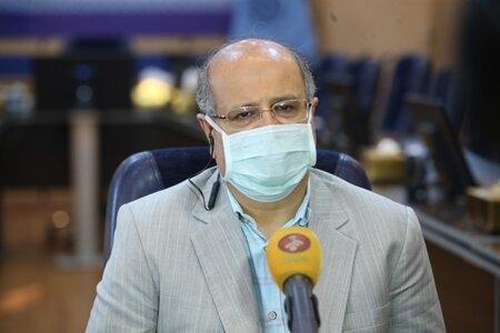 شیب صعودی مراجعین سرپایی بستری و فوتی های ناشی از کرونا در تهران,کرونا در تهران