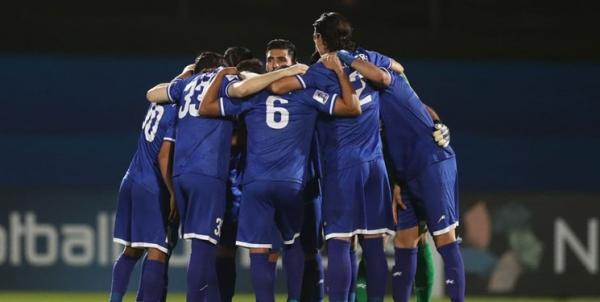 ترکیب تیم فوتبال استقلال برای بازی با الدحیل قطر,استقلال الدحیل