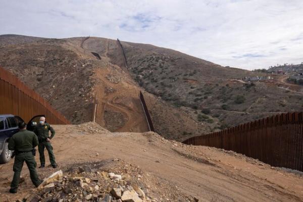 توقف ساختوساز بخشی از دیوار مرزی دونالد ترامپ با مکزیک,دیوار مرزی