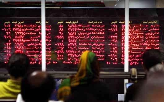شاخص کل بورس تهران در آغاز معاملات امروز,شاخص کل بورس تهران