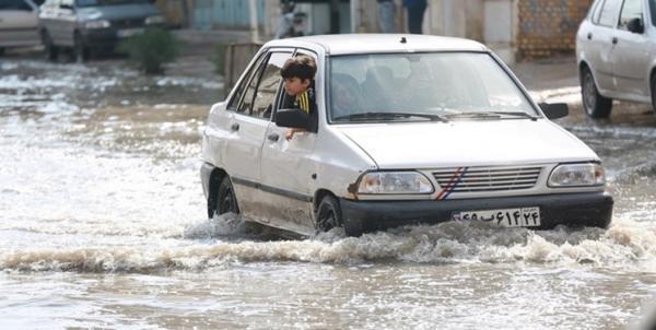 هشدار وقوع سیلاب موقت در برخی مناطق کشور,وضعیت آب و هوای ایران