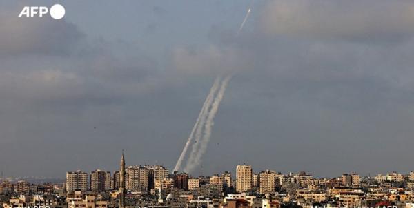 شلیک دهها موشک به سمت قدس,حملات به قدس