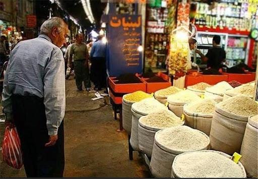 قیمت برنج,کم شدن قدرت خرید مردم