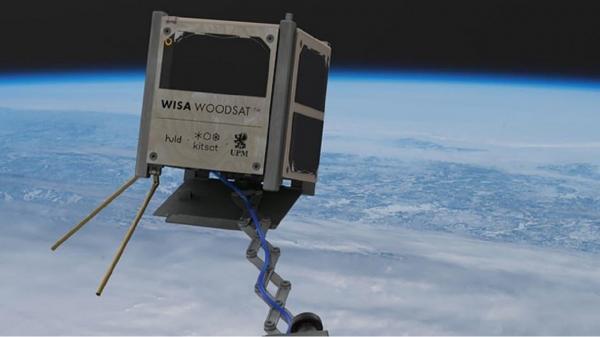 ماهواره چوبی,پرتاب ماهواره چوبی به فضا