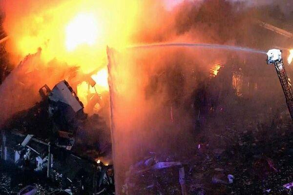 انفجار بزرگ در جنوب تهران,منفجر شدن کروه مذاب در تهران