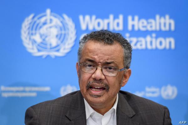 تدروس آدهانوم,مدیر کل سازمان جهانی بهداشت