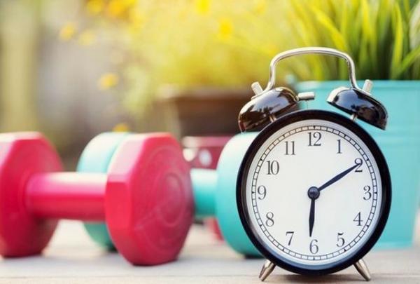 ورزش کردن,فاصله غذا خوردن و ورزش کردن