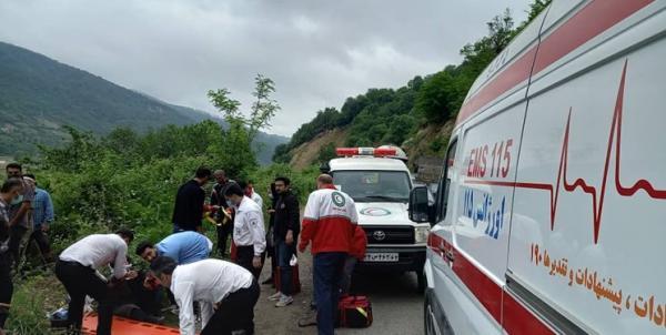 واژگونی مینیبوس در محور ساری تاکام,حوادث ساری