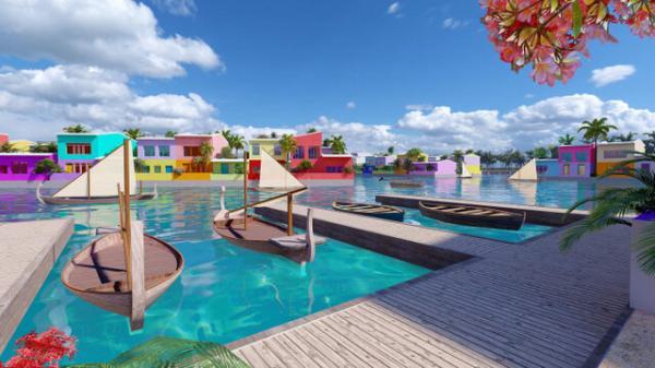 شهر شناور,شهر شناور در مالدیو