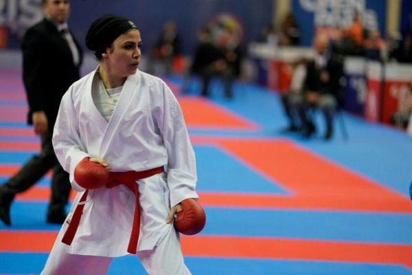 سارا بهمنیار,سارا بهمنیار سومین المپیکی کاراته ایران