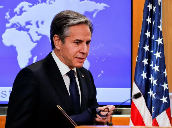 آنتونی بلینکن,وزیر خارجه آمریکا