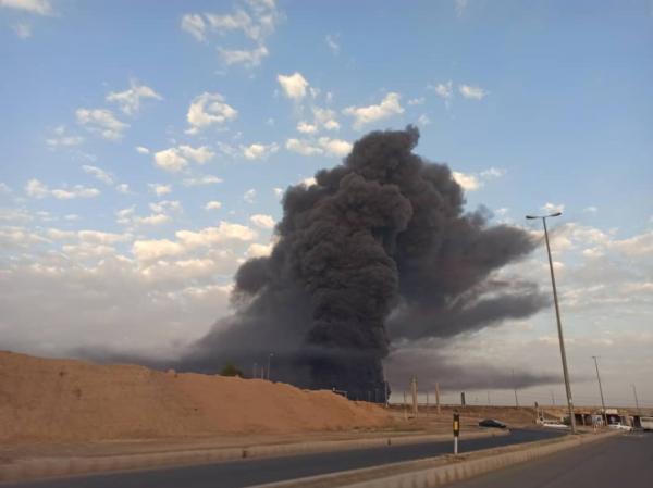آتش سوزی کارخانه الکل قم,وضعیت بحرانی درقم