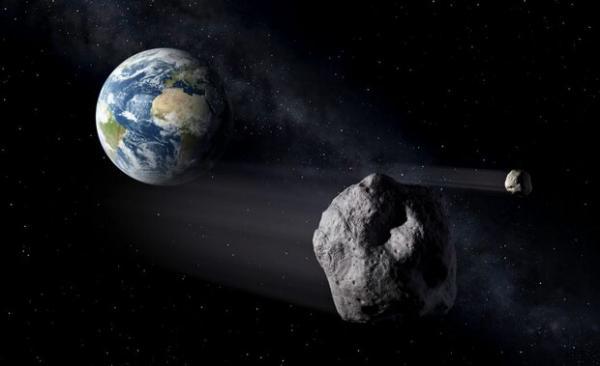 سیارک فرضی,زمین