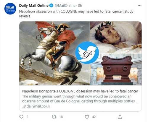 ناپلئون بناپارت,ادکلن