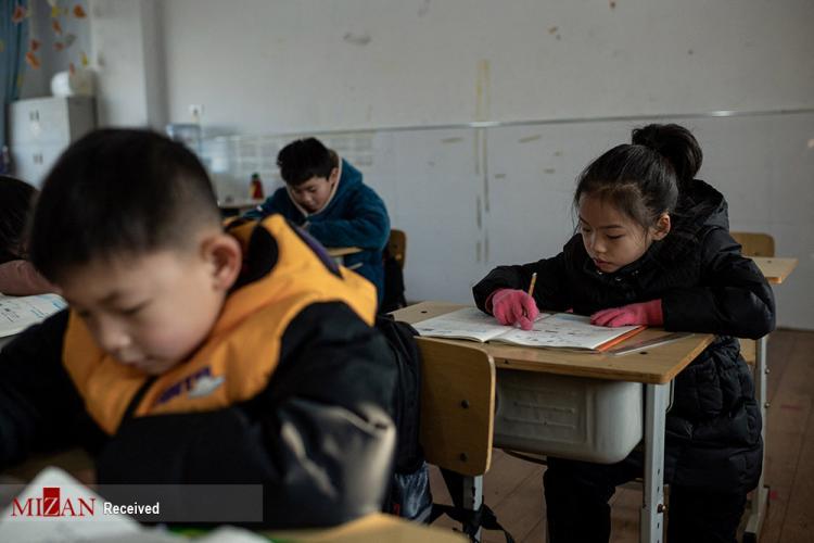 تصاویر مدرسه ژیمناستیک کودکان در چین,عکس های کودکان ژیمناستیک کار چین,تصاویر تمرین کودکان ژیمناستیک کار چینی