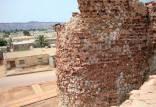برجهای قلعه پرتغالیهای جزیره هرمز,ریزش برجهای قلعه پرتغالیهای جزیره هرمز