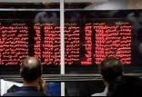 بورس تهران در آغاز معاملات,قرمز شدن بورس