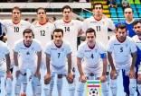 تیم ملی فوتسال ایران,تیم ملی فوتسال ایران جام جهانی