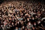 کنسرت آنلاین در اسپانیا, استفاده از ماسک ایمن