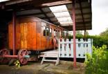 تبدیل واگن قطار قرن نوزدهم به هتلی زیبا,هتل در واگن قطار